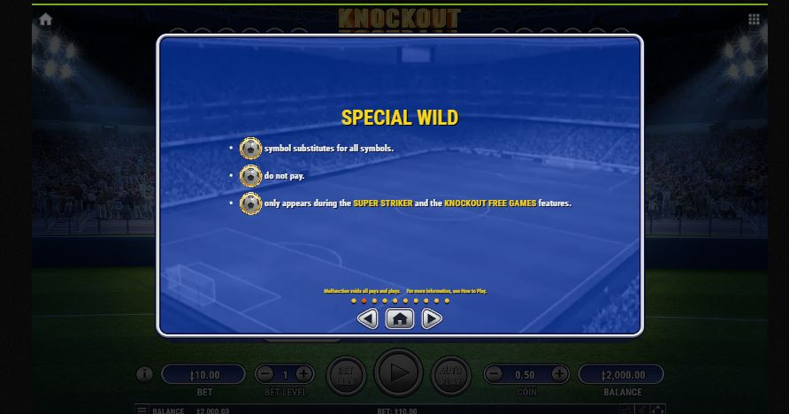 knockout football special wild