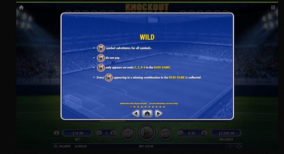 knockout football wild