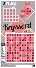 kryssordflax rosa