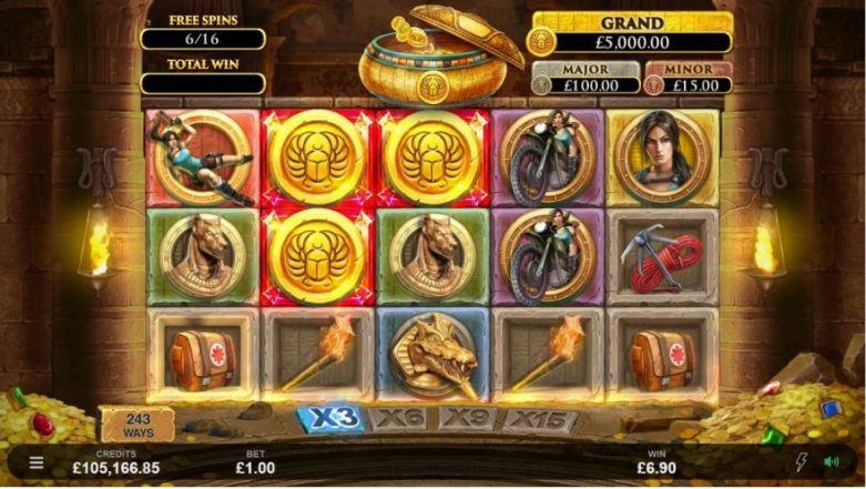 lara croft screenshot