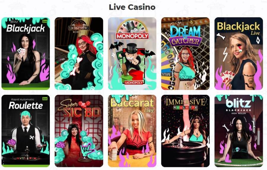 live casino cadabrus