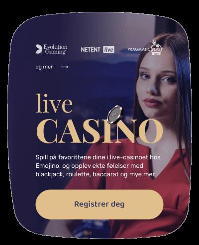 live casino emojino