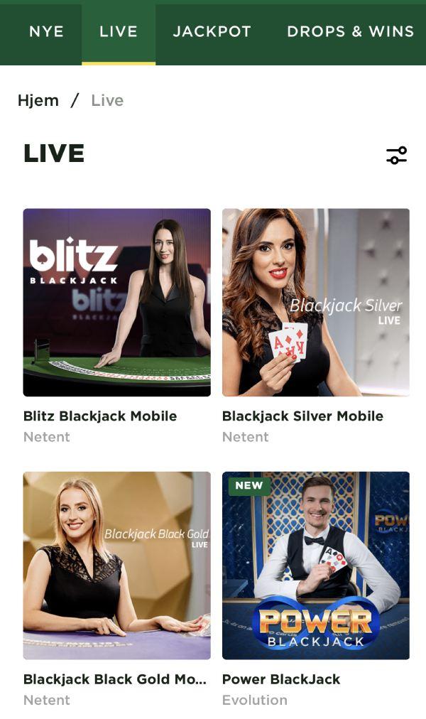 live casino mason