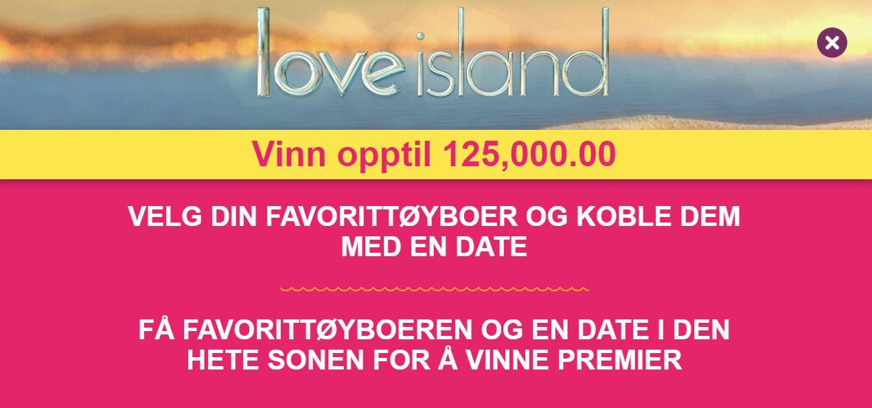 love island jackpot