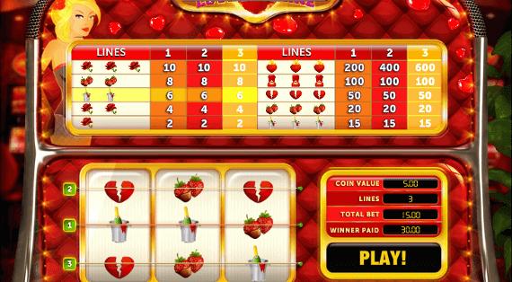 love machine slot