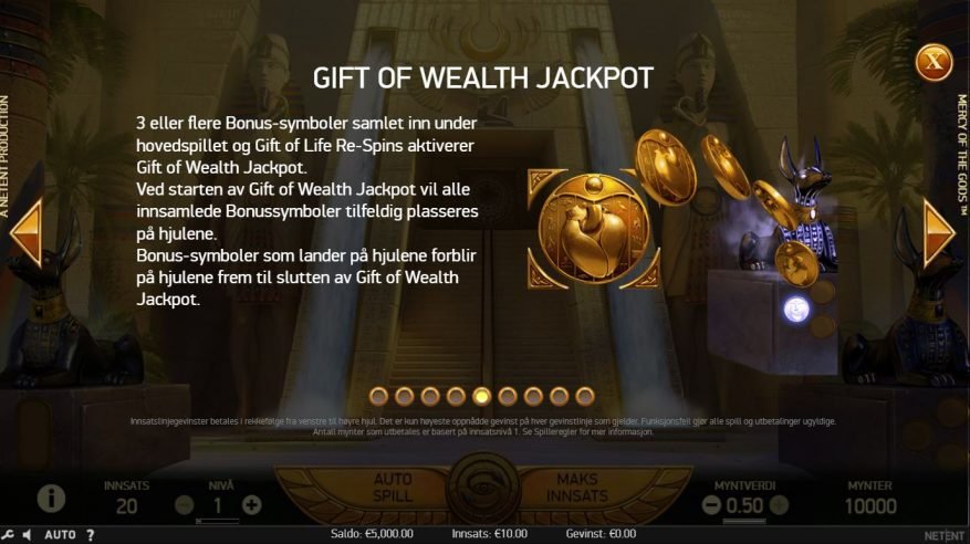 mercy of gods jackpot