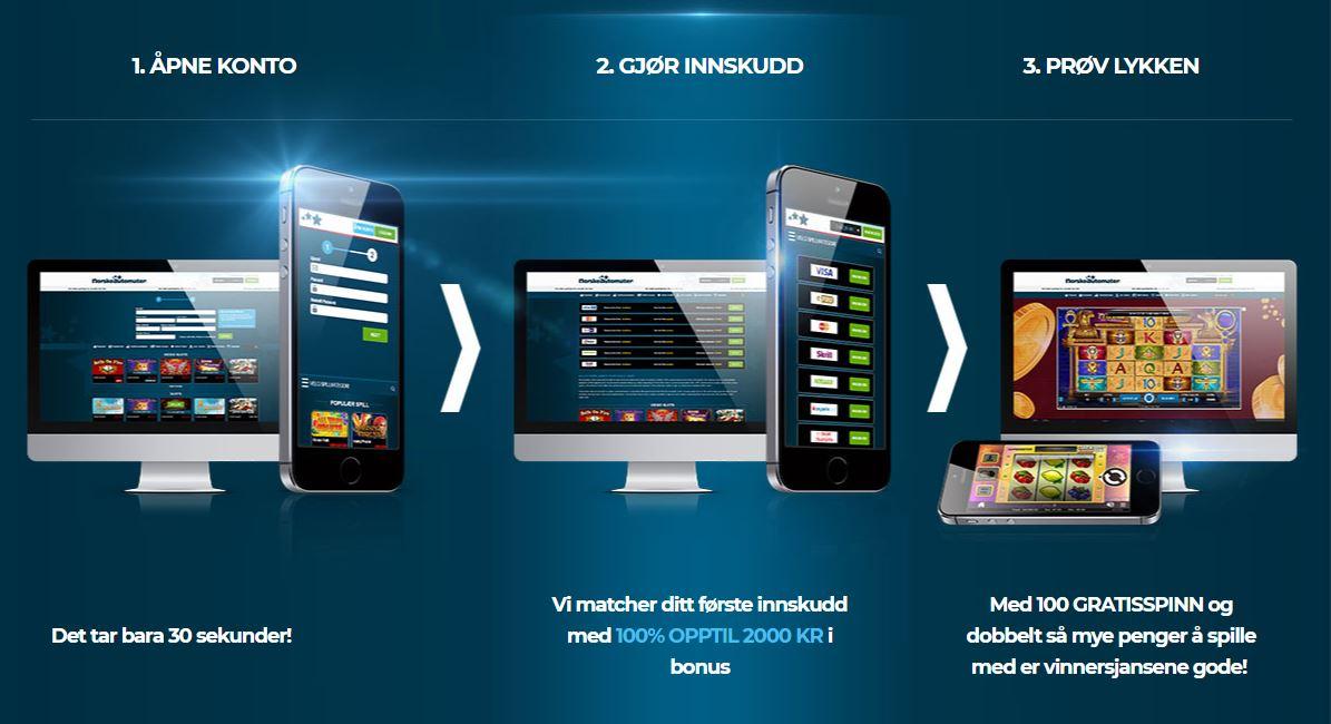 mobilautomaten - åpne konto