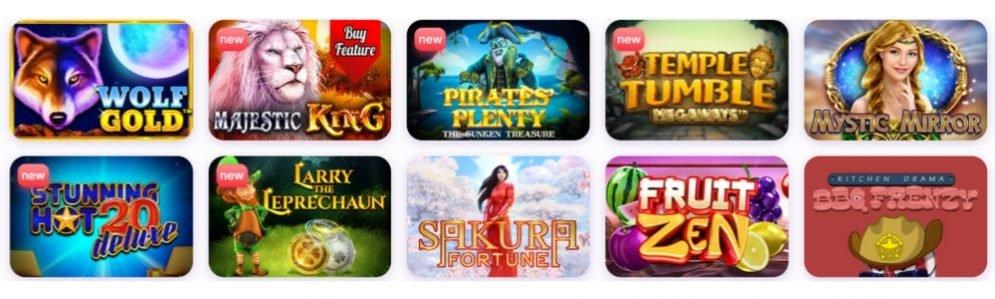 nomini casino banner games