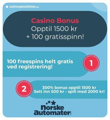 norskeautomater bonus