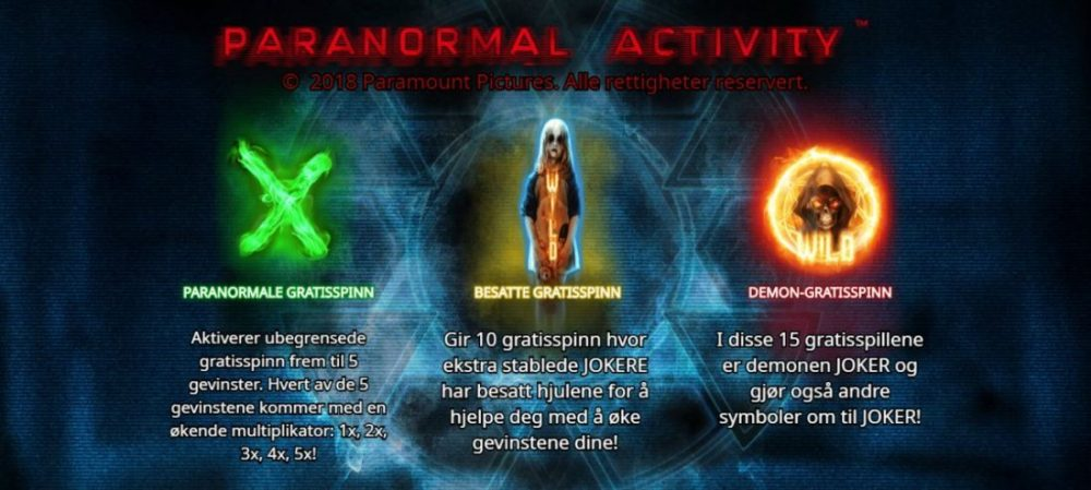 paranormal activity bilde