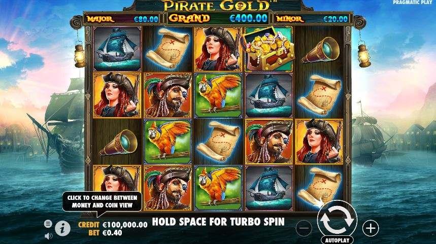 pirate gold hjul