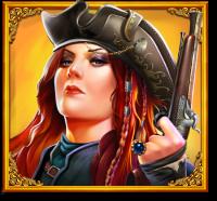 pirate gold piratkvinne