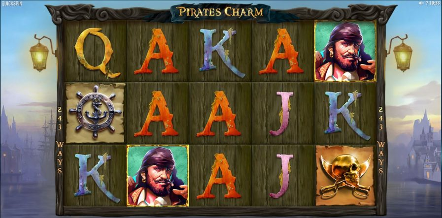 pirates charm - print screen