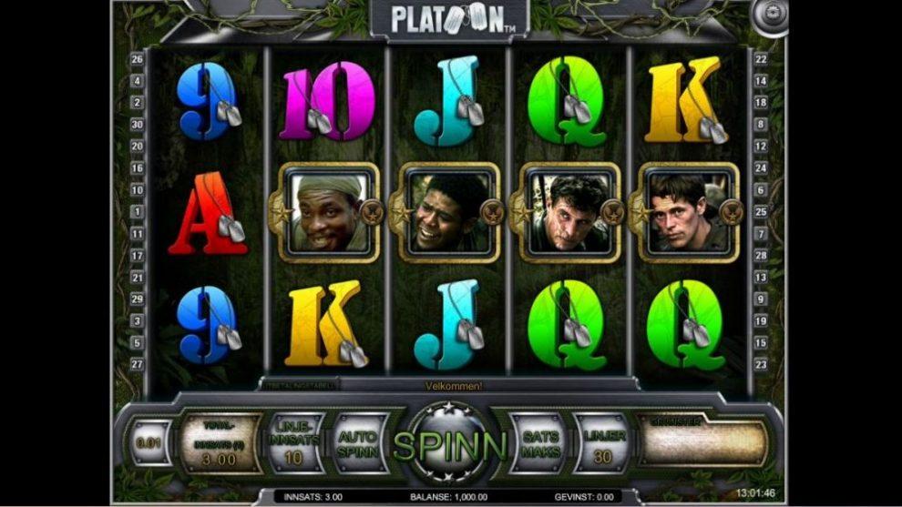 platoon-spilleautomat