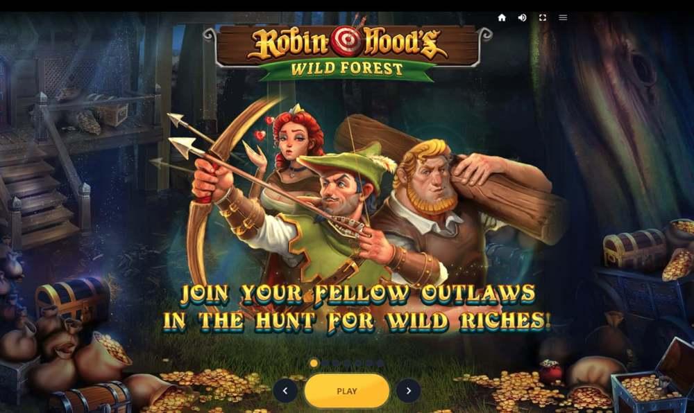 robin hood wild forest startbilde
