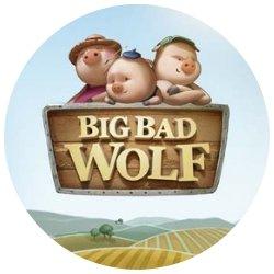 rundt bilde -Big Bad Wolf