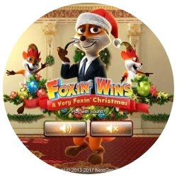 rundt bilde - foxin wins - christmas edition