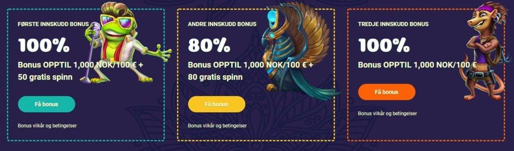 Samosa casino bonus