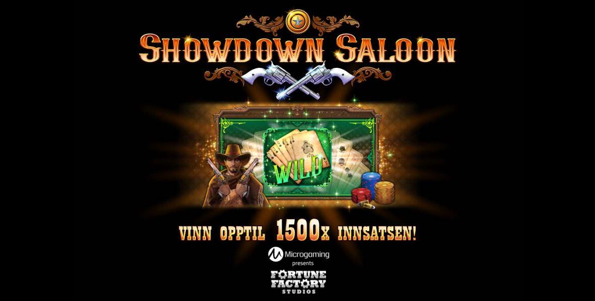 showdown saloon - front