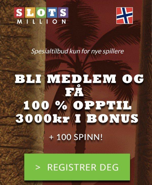 slotsmillion casinobonus