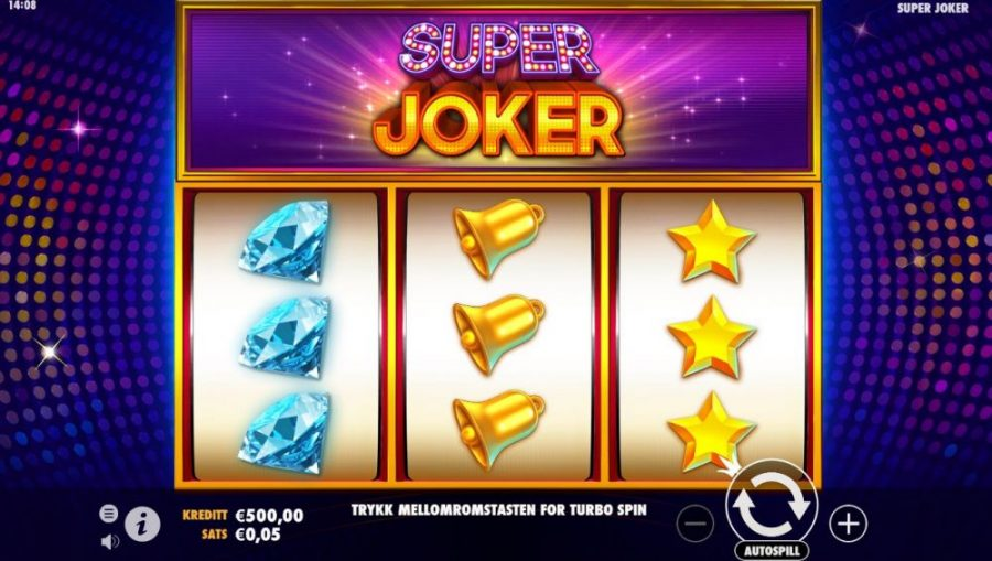 super joker spilleautomater