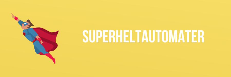 superhelt banner