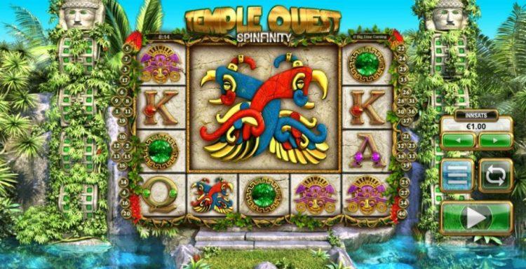 temple quest spilleautomat