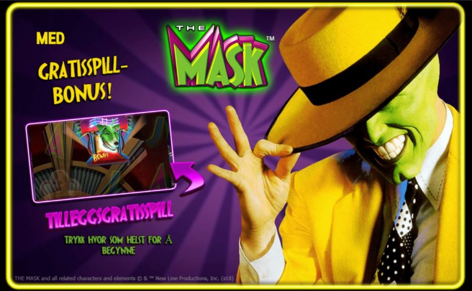 the mask front