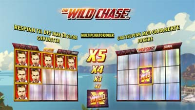 the wild chase spilleautomat