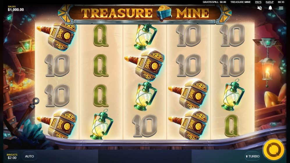 treasure mine - print screen