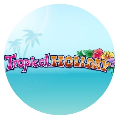 tropical holiday - rundt bilde.