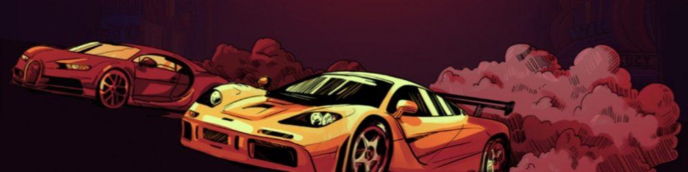 vulkan vegas banner racer biler