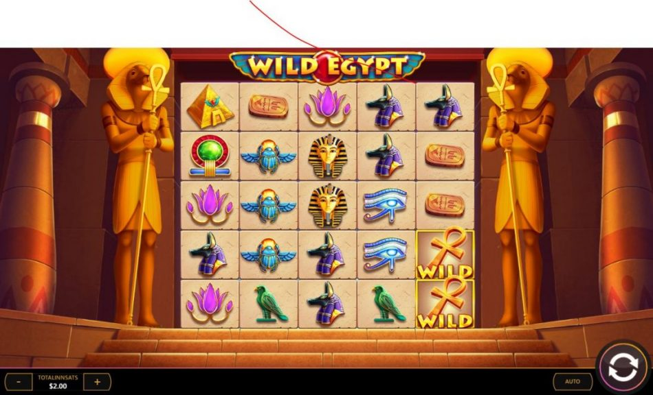 wild egypt spilleautomat