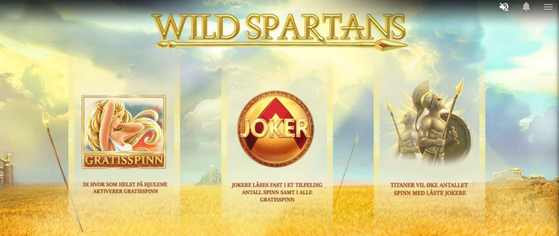 wild spartans - front