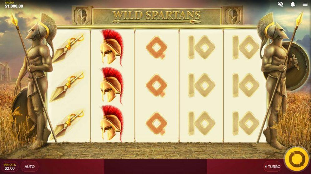 wild spartans - print
