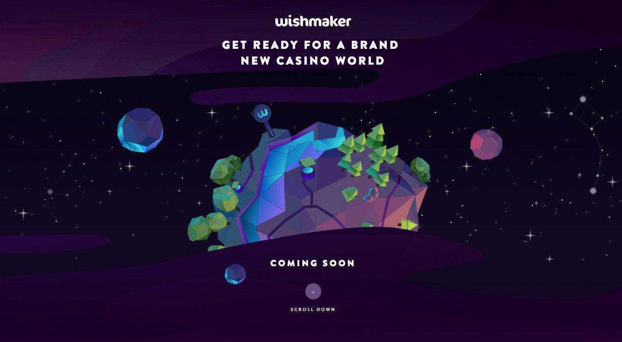 Wishmaker Casino vil bli lansert om kort tid.