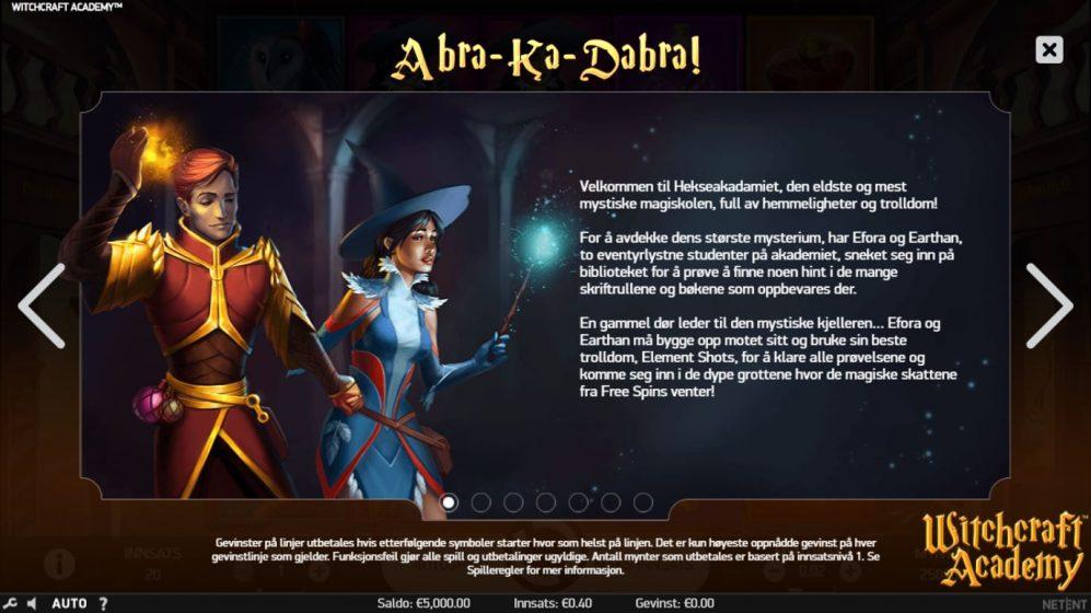 witchcraft acadamy - abrakadabra